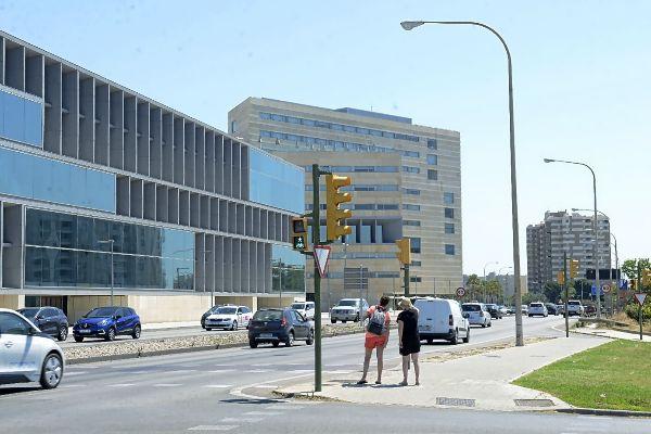 Parte del tramo de la autopista de Levante (Ma-19) que se transformará en vía urbana.