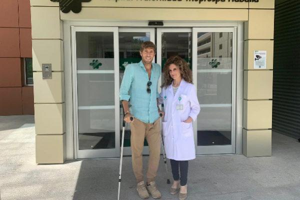Manuel Escribano recibe el alta hospitalaria