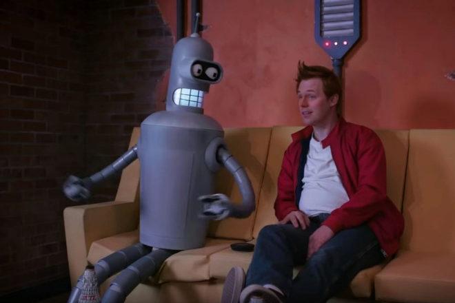 ¿Y si Bender y Fry fueran de carne y hueso?