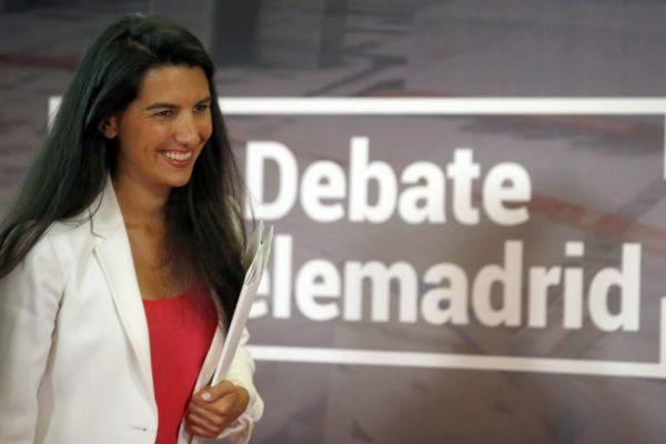 Rocío Monasterio, candidata de Vox en la Comunidad de Madrid.