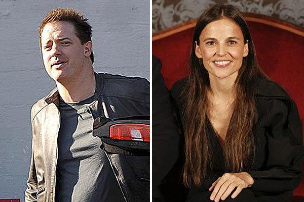 Brendan Fraser y Elena Anaya.