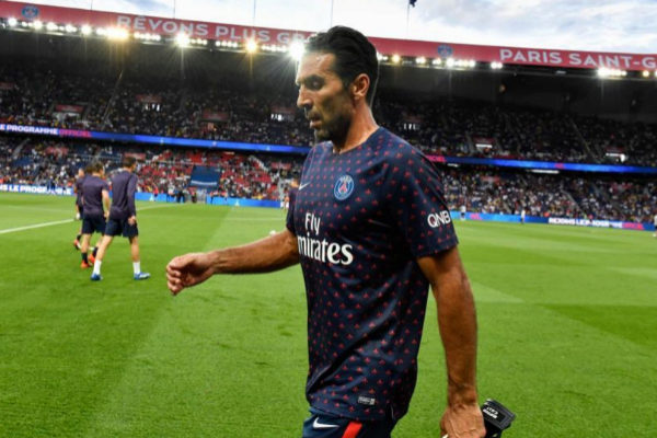 d68b8150d17 Italian goalkeeper Gianluigi Buffon, 41, will leave PSG, the club  announced, after a failed season for the Juventus exporter, who could not  help PSG to ...