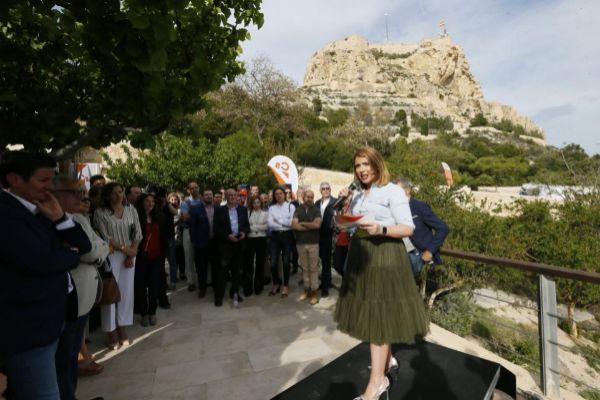 La candidata de Ciudadanos a la Alcaldía de Alicante, Mari Carmen Sánchez.