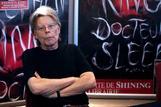 El escritor Stephen King, durante su estancia en París, en la presentación de 'Doctor Sueño'.