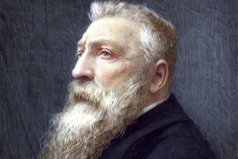 Retrato atribuido anteriormente al rey Leopoldo II de Bélgica y que ha demostrado ser del escultor francés Auguste Rodin.