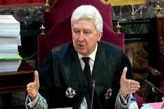 El fiscal Fidel Cadena, en una sesión del juicio del 1-O