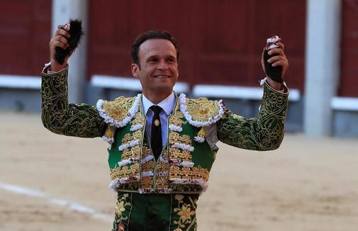 Ferrera cortó dos orejas al toro de Zalduendo el pasado sábado