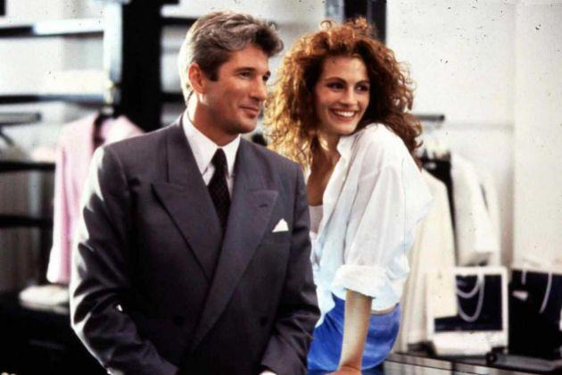 Richard Gere y Julia Roberts en Pretty Woman, película cuyo final...