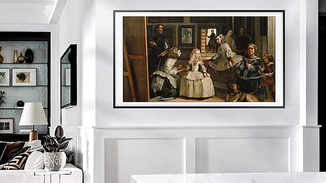 Los nuevos televisores de Samsung permiten que tu casa se convierta en una auténtica galería de arte.