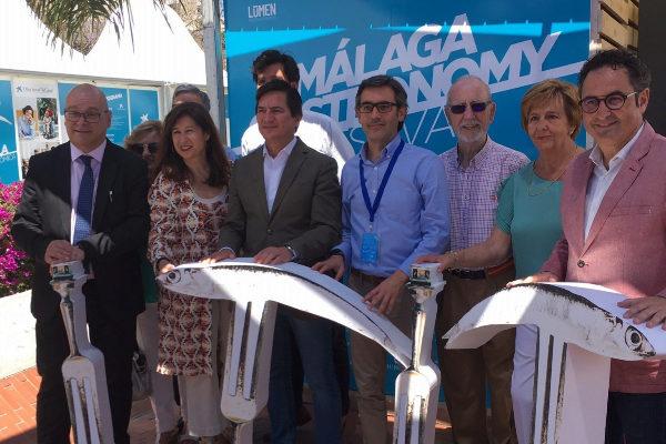 Responsables técnicos y políticos del Málaga Gastronomy Festival.