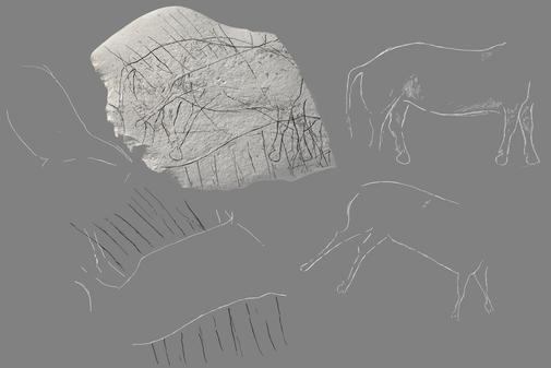 Arte figurativo del peleolítico francés.