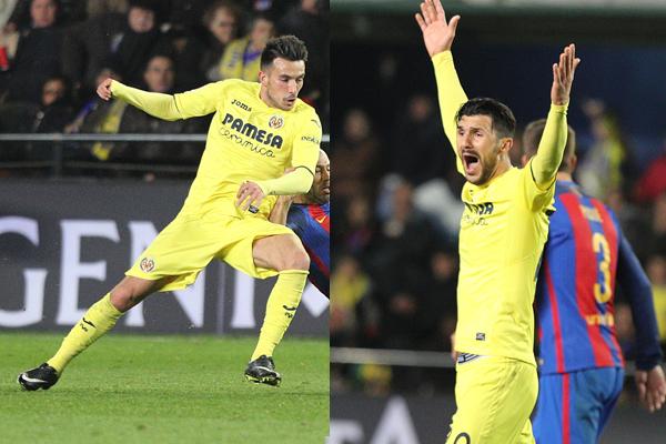 Roberto Soriano y Nicola Sansone militaron en el Villarreal en la temporada 16/17.