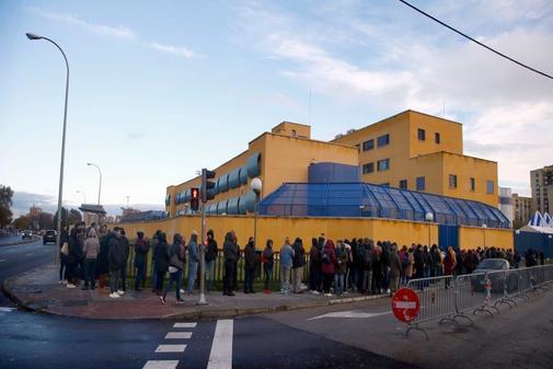 Instalaciones del CIE de Aluche en Madrid
