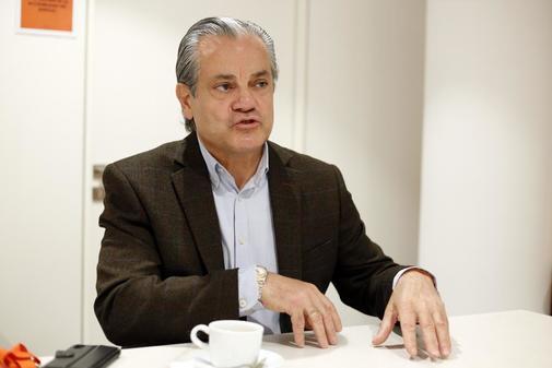 El diputado Marcos de Quinto, en la sede Ciudadanos