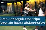 La entrenadora Noe Todea, en Naked Concept (Madrid).