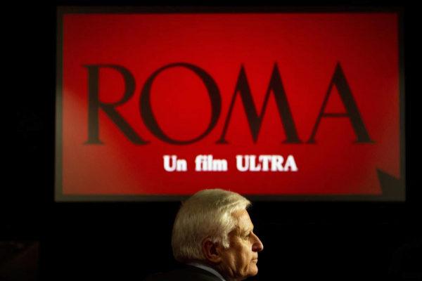 Paolo Vasile, consejero delegado de Mediaset España, en una proyección privada de la película Roma.