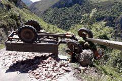 Muere el único joven del municipio asturiano más despoblado al volcar su tractor