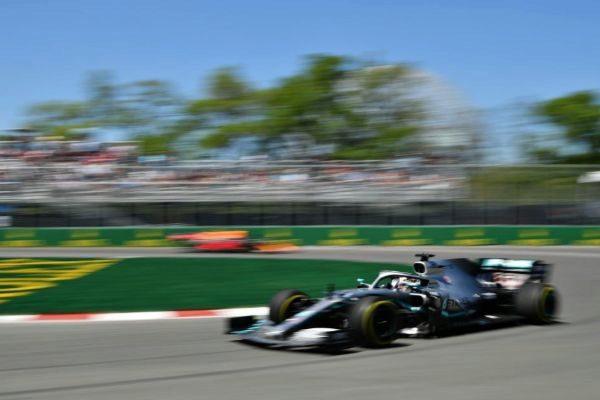 Hamilton, durante la primera sesión libre en Montreal.