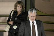 Dolores Delgado y Baltasar Garzón, en una imagen de 2008, siendo fiscal y juez de la Audiencia Nacional.