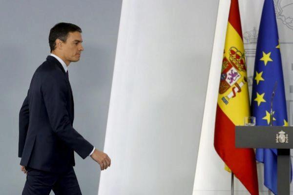 Pedro Sánchez compareció en La Moncloa tras reunirse con el Rey.