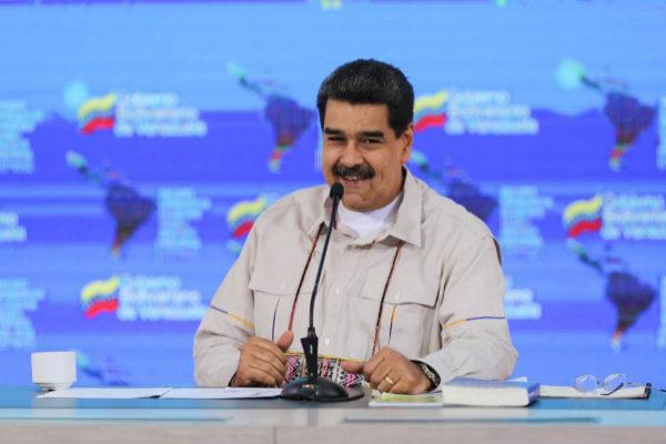 Nicolás Maduro, este viernes.