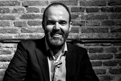 El periodista y escritor burgalés Leandro Pérez Miguel.