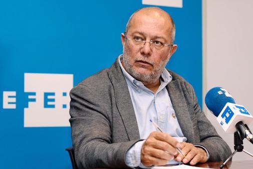 Francisco Igea, durante una entrevista con la agencia Efe