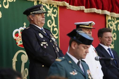 El comisario Alfonso Cid el pasado mes de octubre.