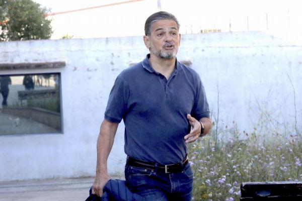 Oriol Pujol sale de la prisión de Brians 1 de Barcelona.