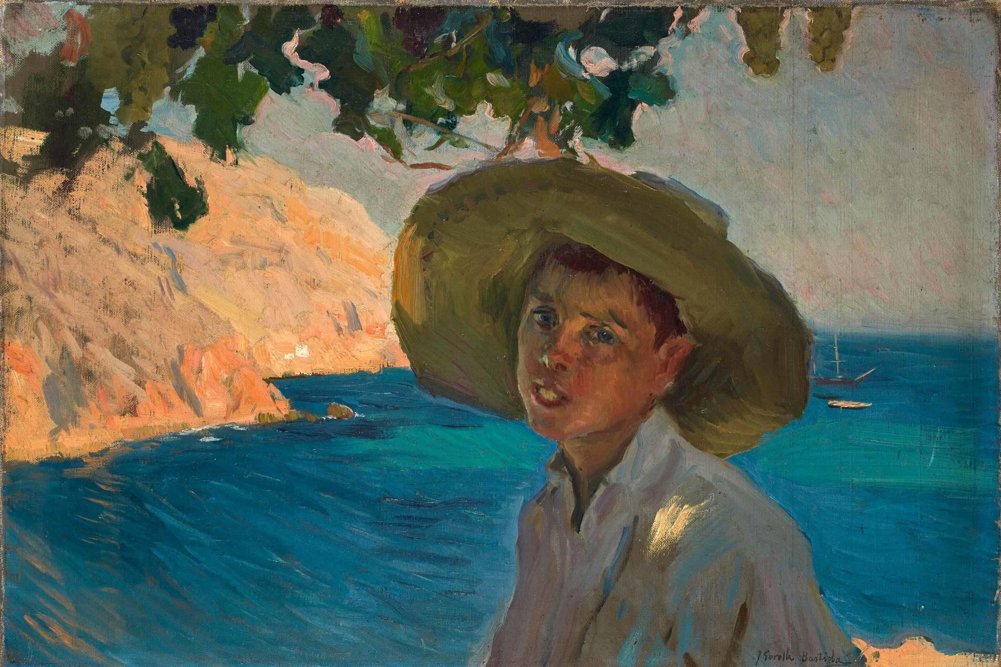 'Chico con sombrero, Jávea', de Joaquín Sorolla.