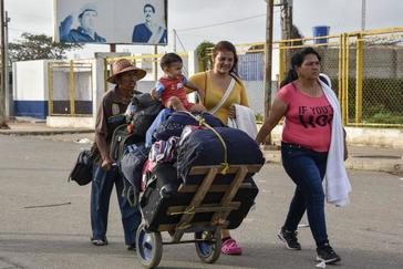 "Diáspora venezolana, una ""avalancha"" sin límites"