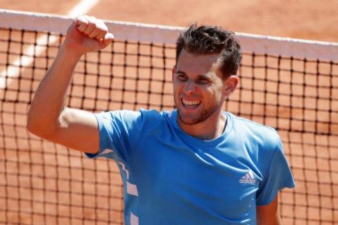 Thiem vence a Djokovic en un duro partido y será rival de Nadal en la final