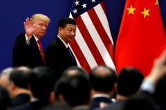 Trump y Xi Jinping durante su encuentro en noviembre de 2017 en Pekín.