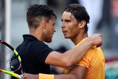 Nadal y Thiem en el Mutua Madrid Open 2018
