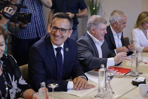 El candidato del PSOE en Murcia, Diego Conesa