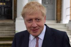 Boris Johnson abandona el 10 de Downing Street.
