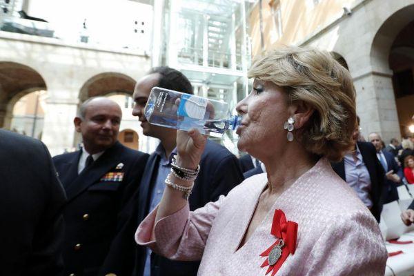 Esperanza Aguirre, durante la celebración del pasado 2 de mayo.