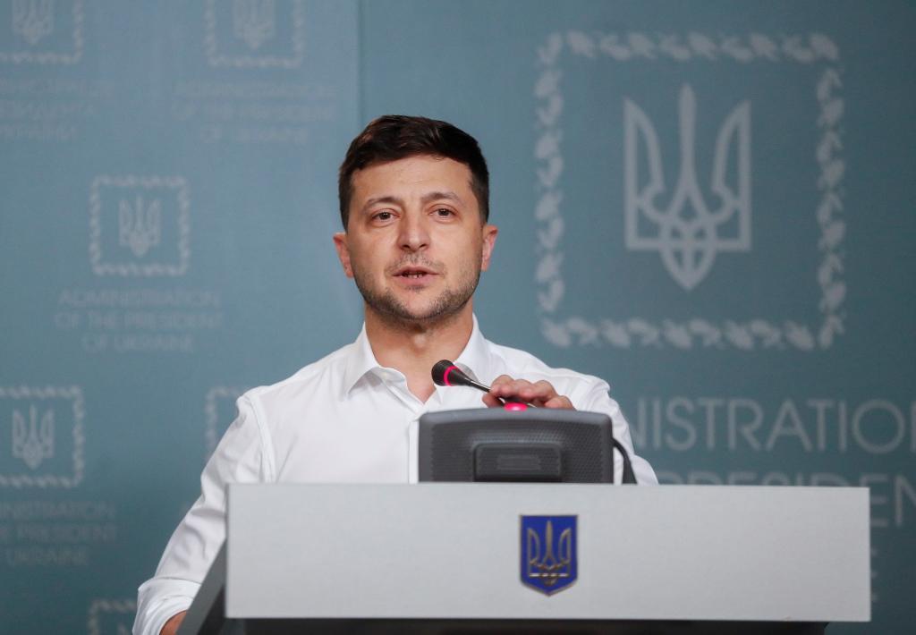 Difícil Gobierno: los ucranianos no están para chistes
