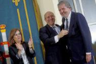 José Ignacio Wert e Íñigo Méndez de Vigo, en el relevo de ministro