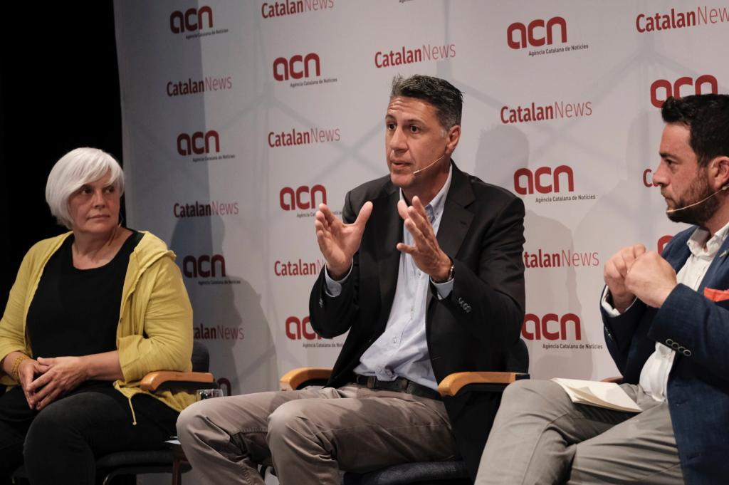 Dolors Sabater, Xavier García Albiol y Álex Pastor