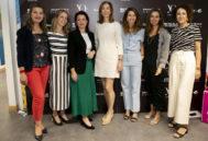 En la jornada de Emprendimiento con Ana Isabel Lorenzo, Cristina Oria, Hortensia Roig, Ana Carrasco, Celia Morales, e Isabel García-Zarza/ Foto: Cruz Campa