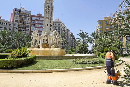 Plaza de los Luceros de Alicante.