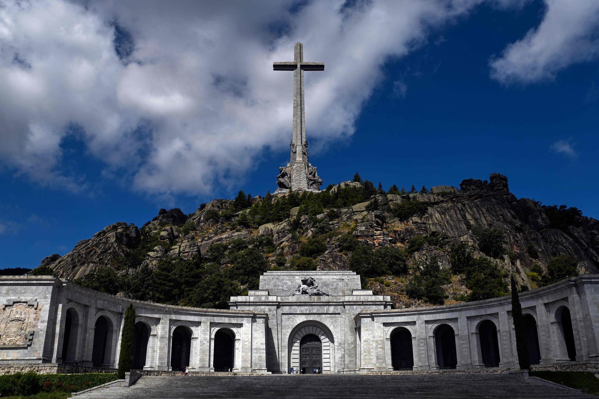El Valle de los Caidos, en la comunidad de Madrid.