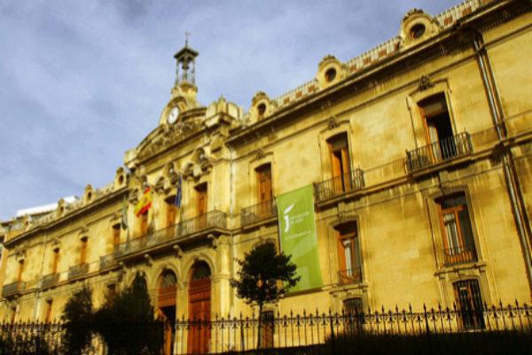 Antiguo convento de San Francisco, sede de la Diputación de Jaén.