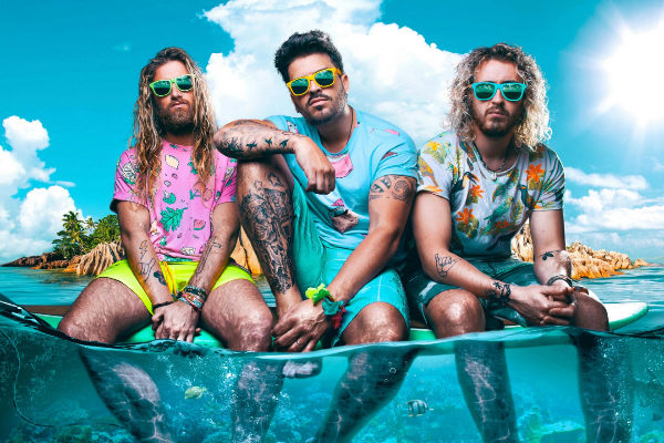 El grupo valenciano Bombai actuará el domingo en el parque de atracciones.