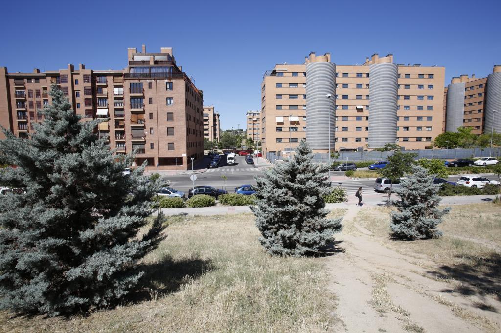 Edificios en Las Tablas.