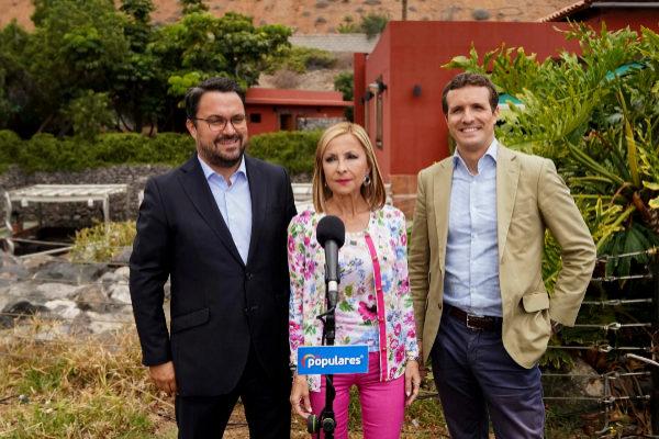 ablo Casado visita la isla en la campaña electoral. Elecciones...