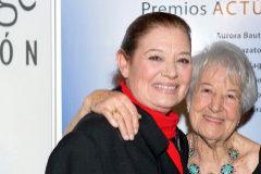 Teresa y su madre, Asunción.
