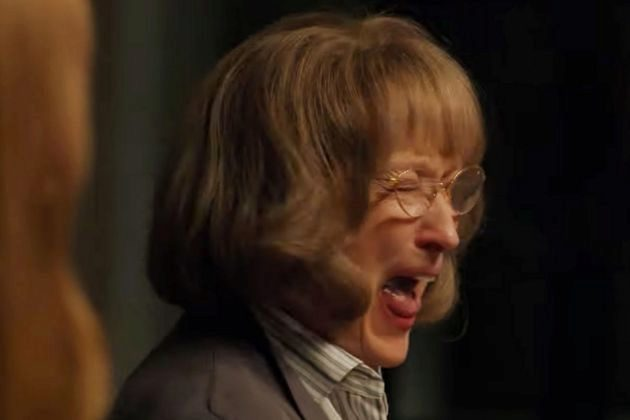 Mary Louise Wright (Meryl Streep) gritando en Big Little Lies, una...