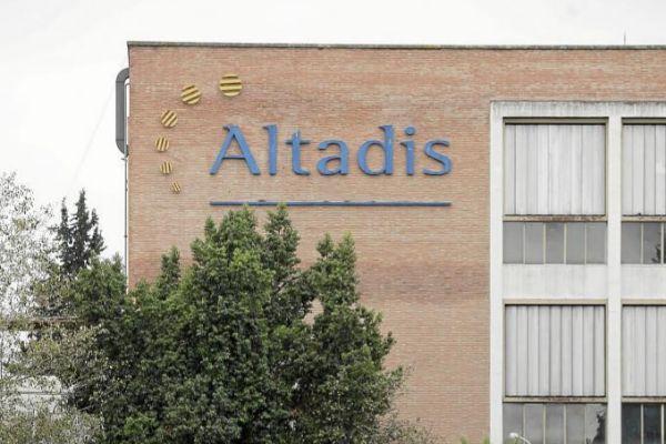 Fábrica de Altadis en Sevilla